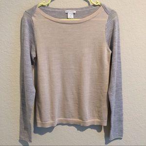 Club Monaco two toned sweater
